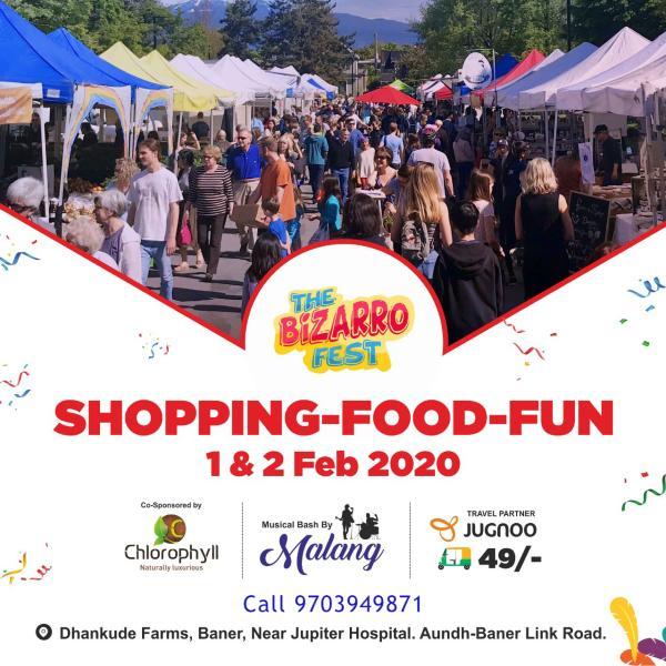The Bizarro Flea- Shopping & Food Fest - Pune