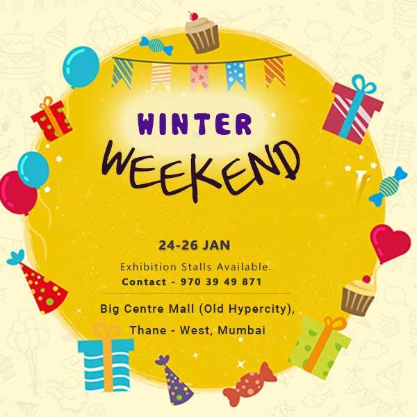 Dezithrillz Winter Weekend Flea @ Big Centre Mall - Mumbai