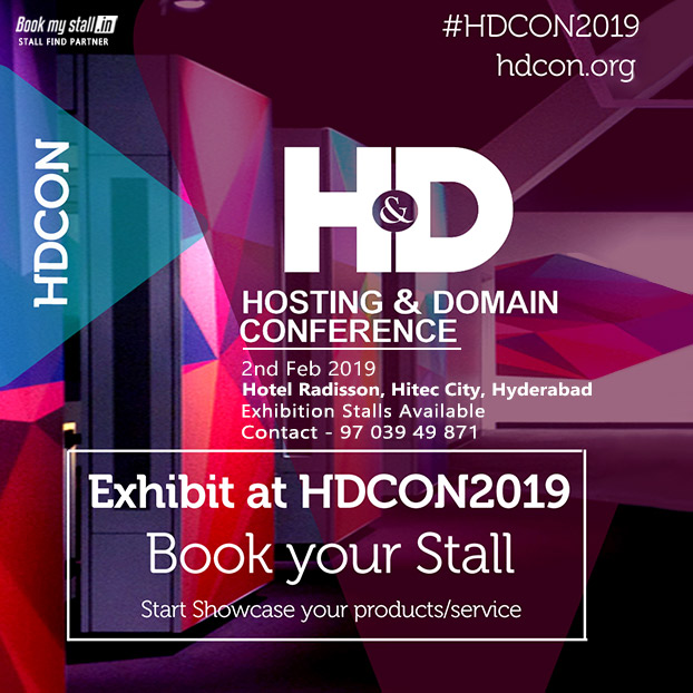 Hosting & Domain Conference 2019 - Hyderabad