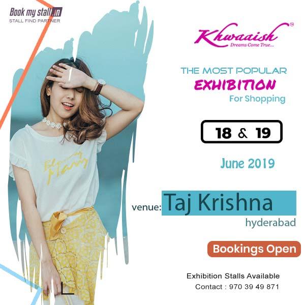 Lifestyle Exhibition cum Sale @Taj Krishna - Hyderabad